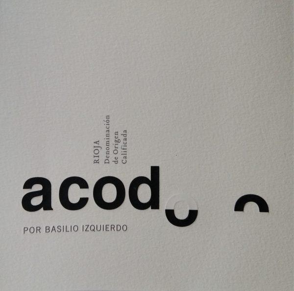 Etiqueta Acodo Rosado