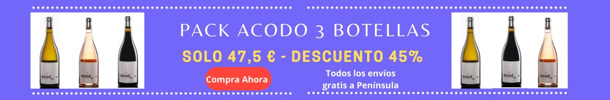 Oferta Acodo Pack 3 unidades